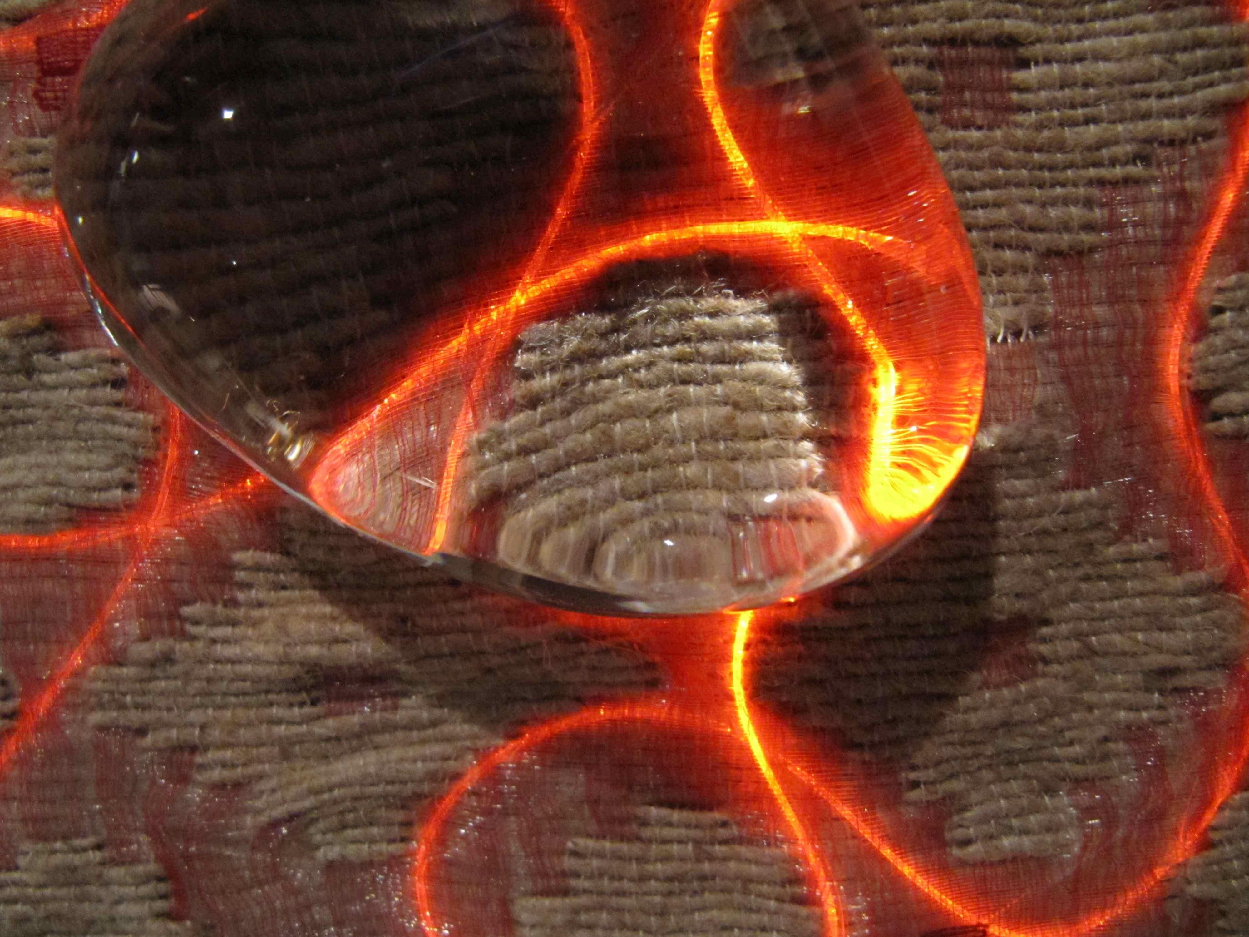 Tissage la main araneafilum - Chemin de table lumineux ...