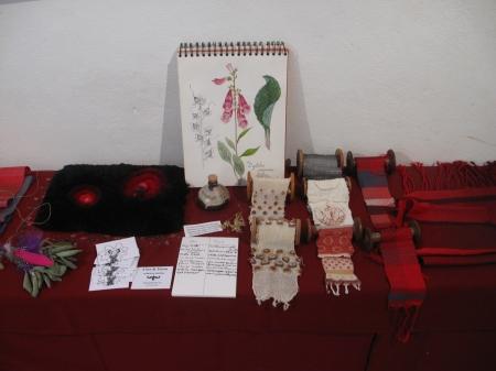 recherches textile et illustration botanique